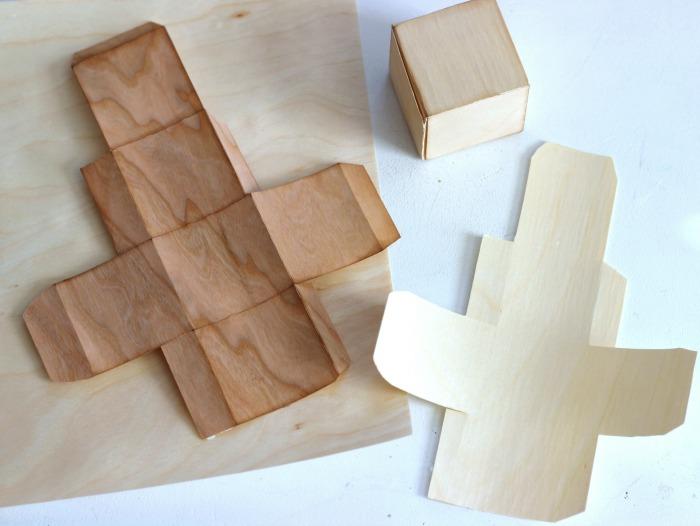 Wood Box paper