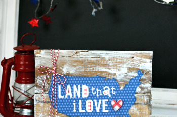 How to make a Patriotic Pallet Sign