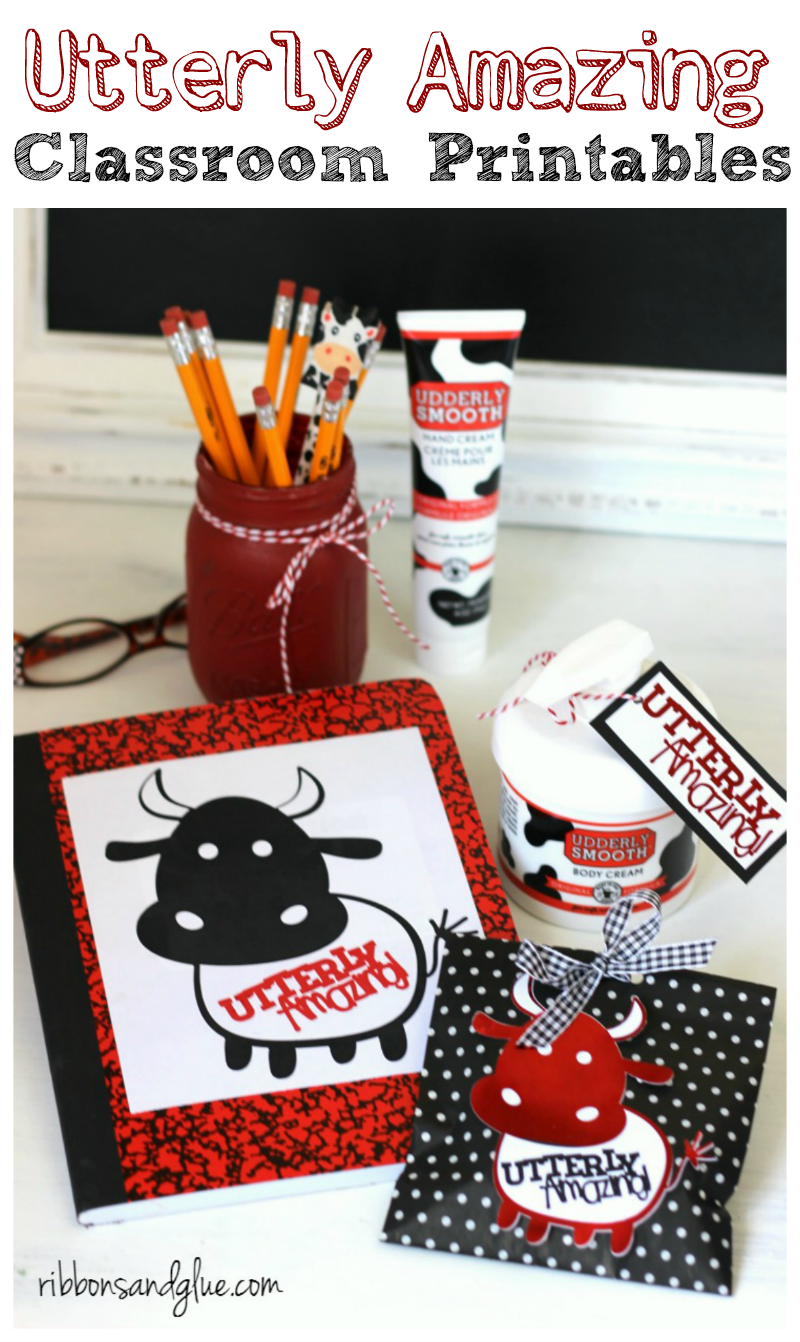 Utterly Amazing Classroom Printables