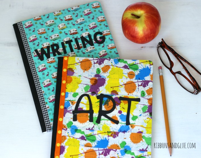 How to make Duck Tape Covered Composition Books