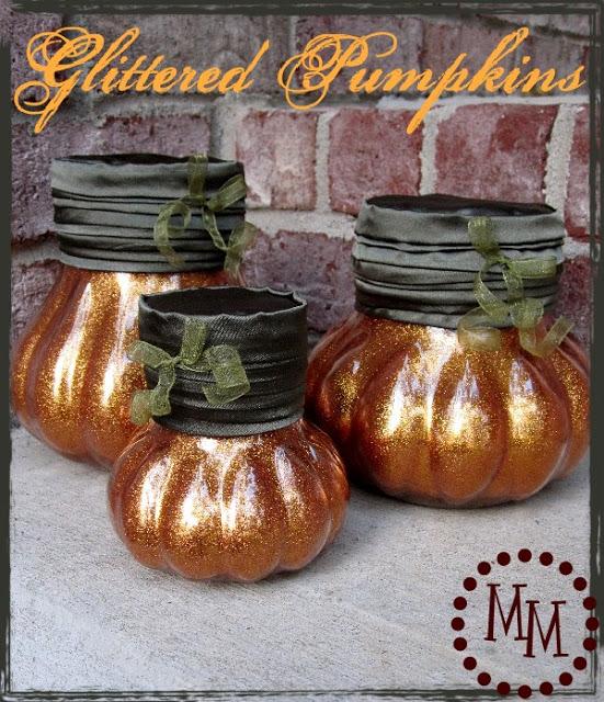 glitter-pumpkins-1