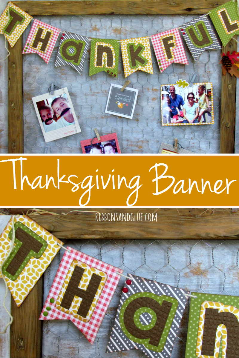 Show what you are Thankful for by creating this Thankful Fall Banner along with some of your favorite photos.