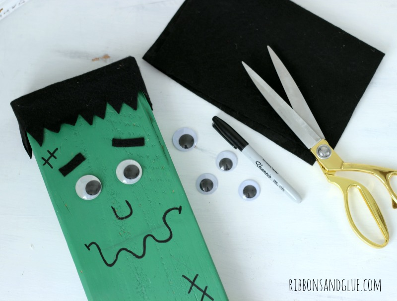 How to make Frankenstein out of a wood board