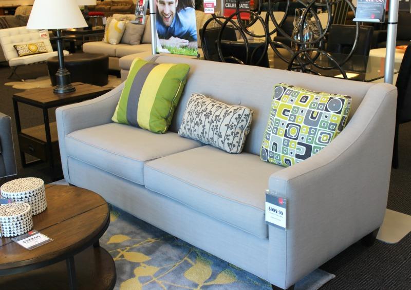 CORT Clearance Furniture Farmhouse inspired sofa
