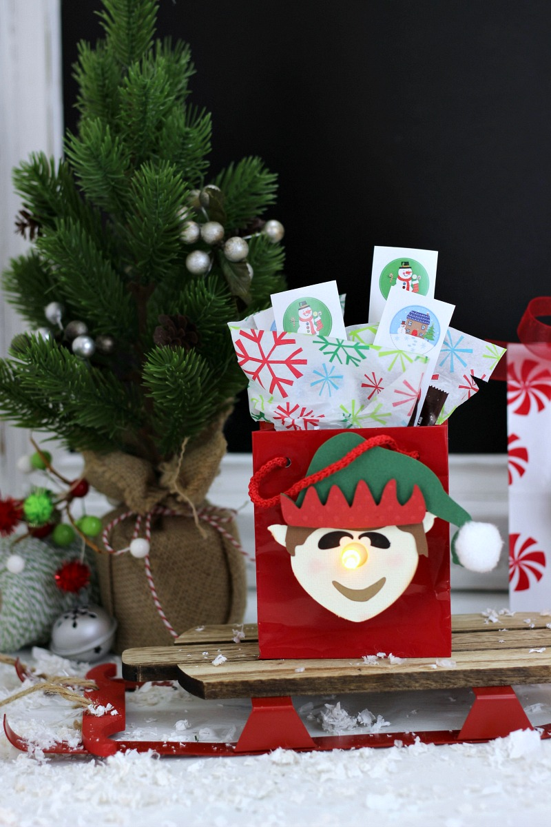 Youve been elfed 3d elf tealight treat bags since american greetings is encouraging people to elf their friends neighbors or coworkers theyve even created an elfing printable to make elfing even kristyandbryce Choice Image