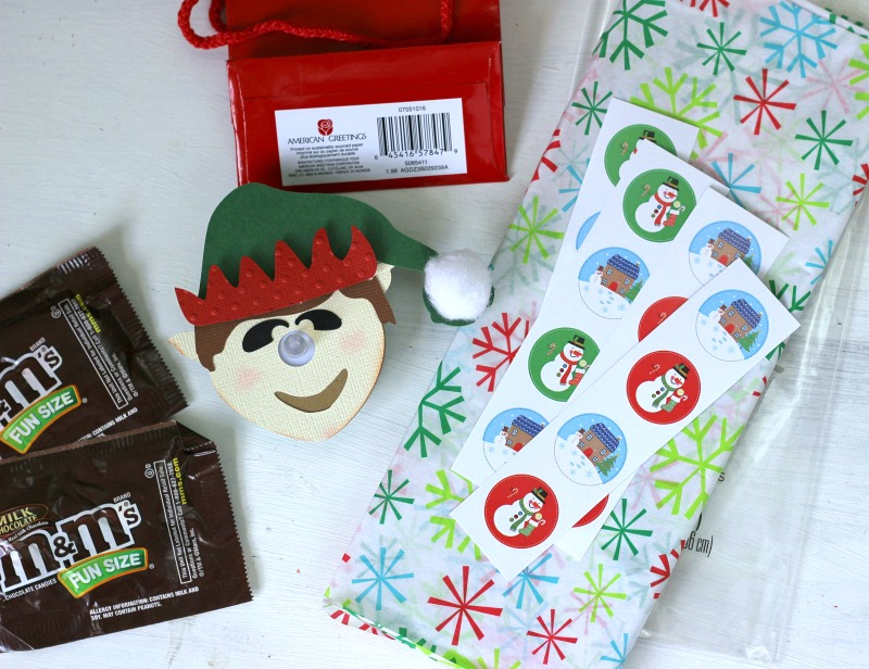 How to make a You've Been Elfed! 3D Elf Tealight Treat Bags
