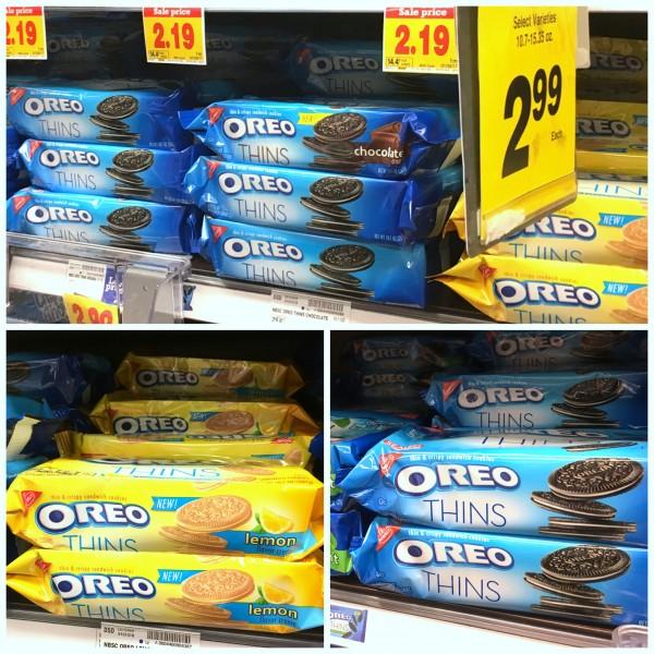 OREO Thins cookies at Kroger