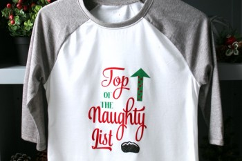 Naughty List Christmas Shirt