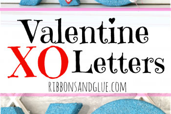 Valentine XO Letters