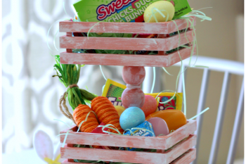 Tiered Tray Easter Basket