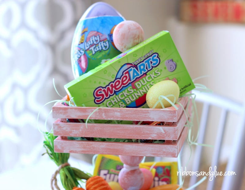 Tiered Tray Easter Basket for Spring