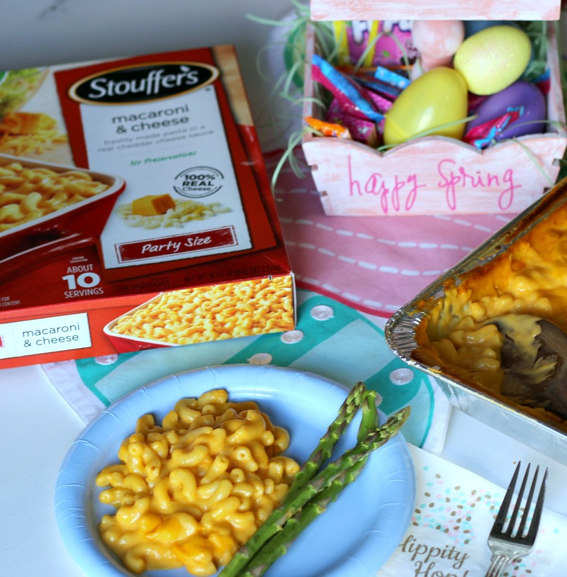 Mac and Cheese Night. Easy meal for Lent #SpringItOn #NestleKitchen #ad