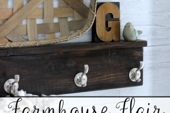 Farmhouse Flair using Removable Shiplap Wallpaper