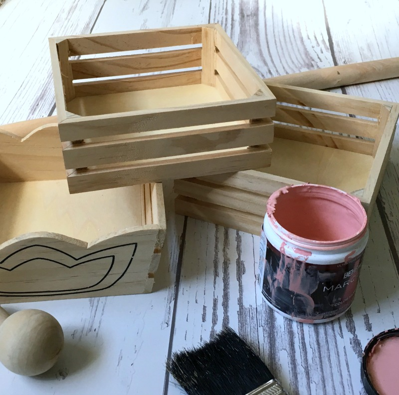 How to make a three Tiered Tray Easter Basket