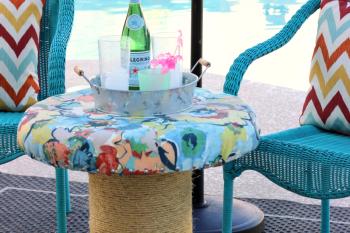 DIY Outdoor Spool Table