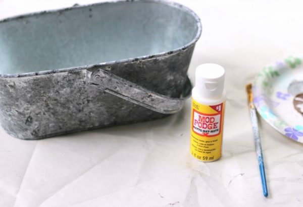 How to create a faux galvanized finish with paint