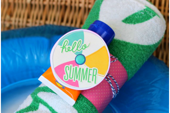 Beach Towel Pool Party Favors