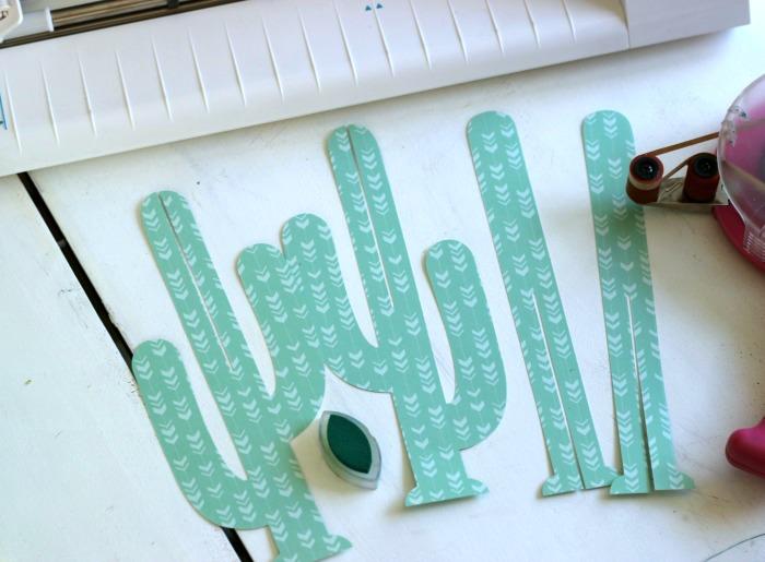 Silhouette CAMEO 3D Paper Cactus cut file