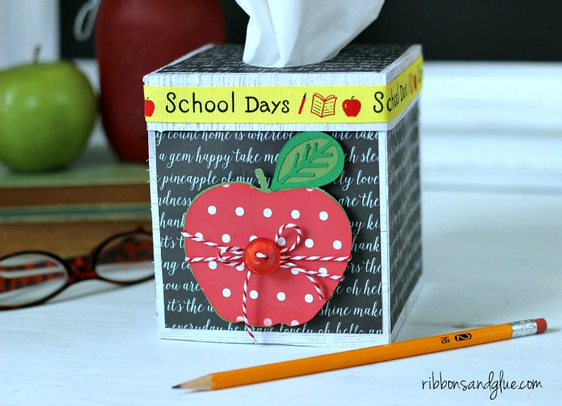 Classroom Tissue Box for the Teacher's Desk #schoolsupplies