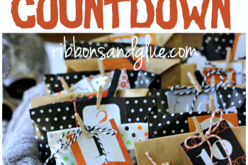 Halloween Treat Bag Countdown