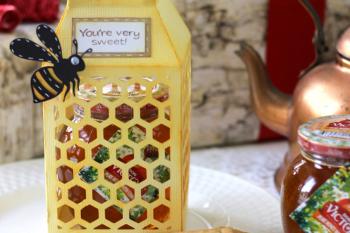 Honeycomb Paper Lantern Gift Box