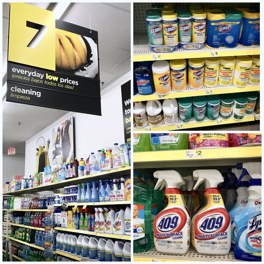 Dollar General Spring Cleaning Products