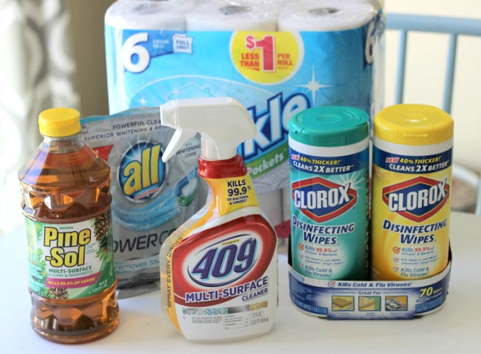 Spring Cleaning Supplies from Dollar General
