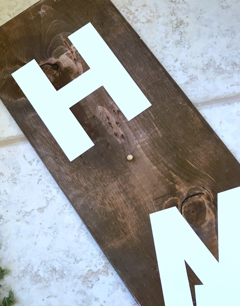 Farmhouse Home Sign template