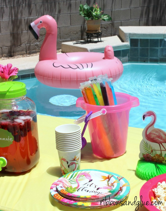 Flamingo Pool Party Fun