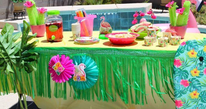 Let's Flamingo Pool Party