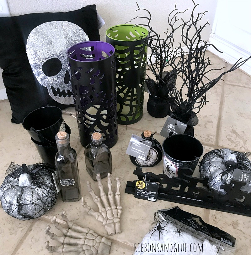 Halloween Decor from the 99 Cents Only Store