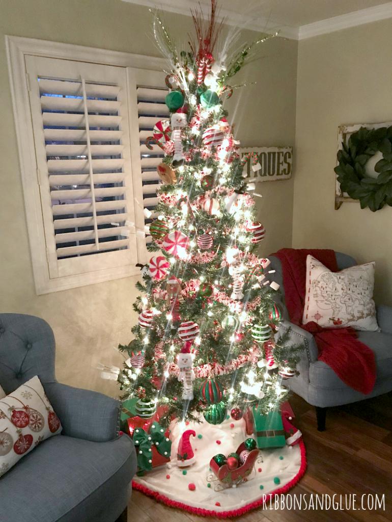 Santa and His Elves Christmas Tree.